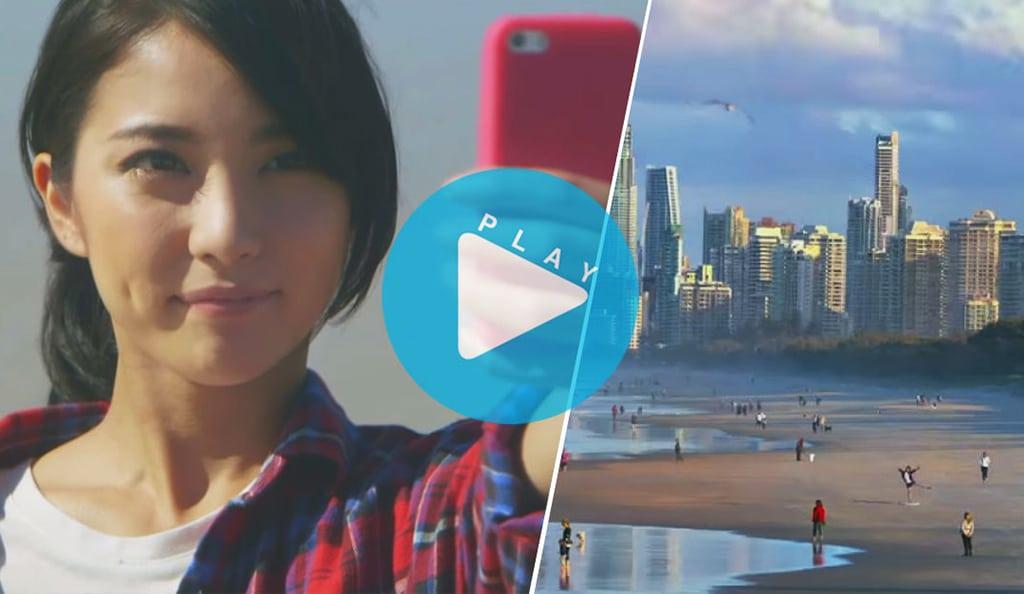 tourism australia creates world 39 s longest selfie stick for japanese tourists skift. Black Bedroom Furniture Sets. Home Design Ideas