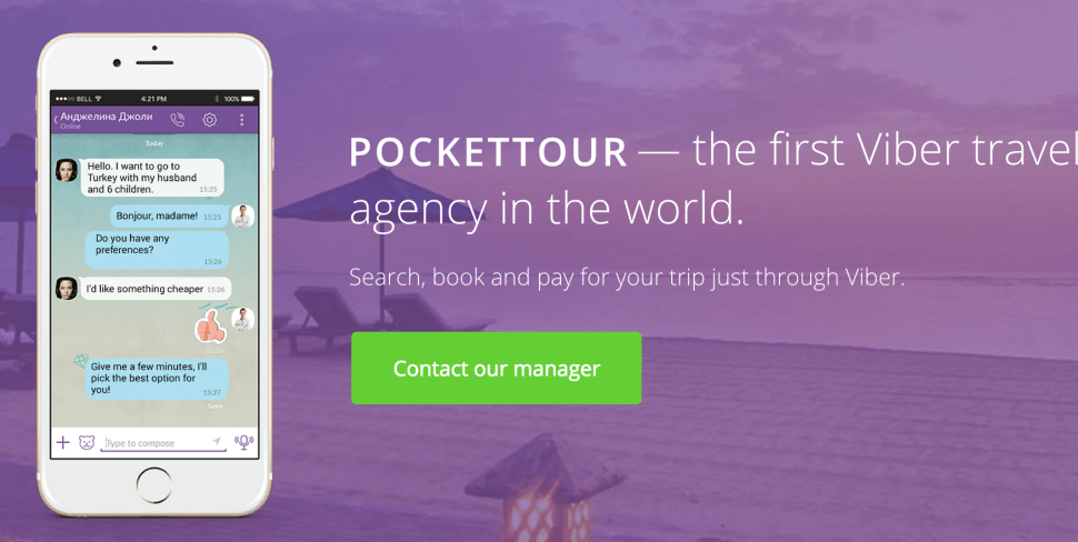 Here's the First Travel Agency to Operate Only on Messaging App Viber