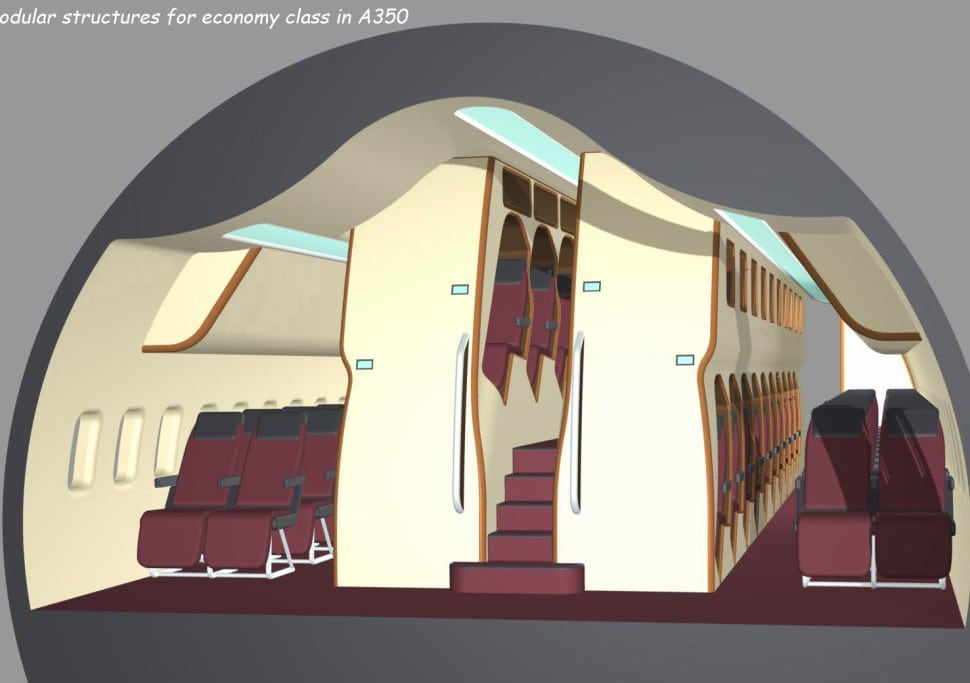 New Vertical Cabin Design Stacks Passengers to Increase Room in Economy