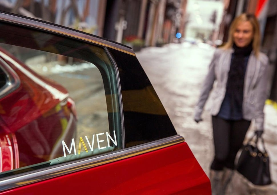 GM Launches Maven Brand to Compete With Zipcar and Uber, Too