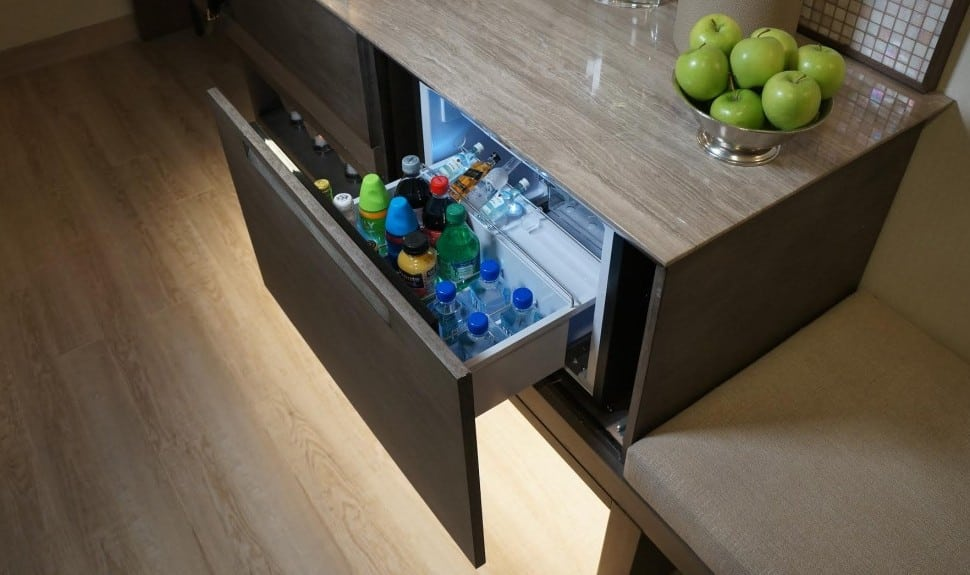 Hotel Minibars Try to Make a Comeback With Better Design and Local Products