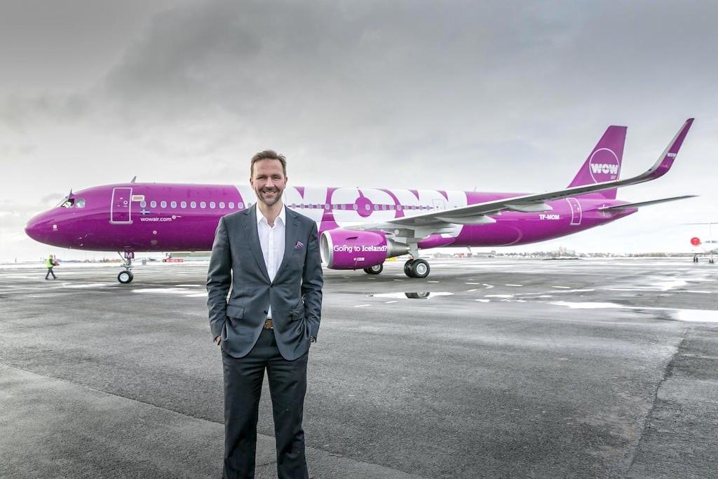 WOW Air founder Skúli Mogensen.