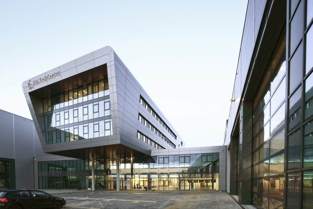 The new ZAL Centre of Applied Aeronautical Research in Hamburg