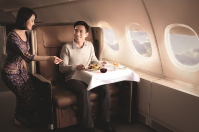 To Attract More Premium Passengers, Asian and Middle East Airlines Raise the Bar on In-Flight Meals