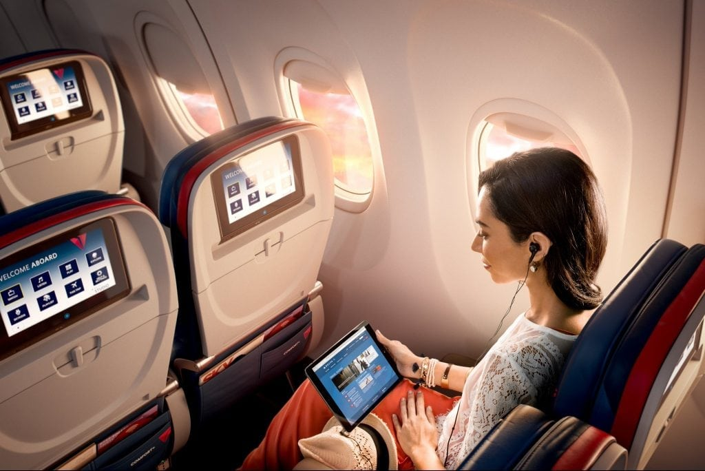 Delta's In-Flight Entertainment Will Soon Be Free for All Passengers