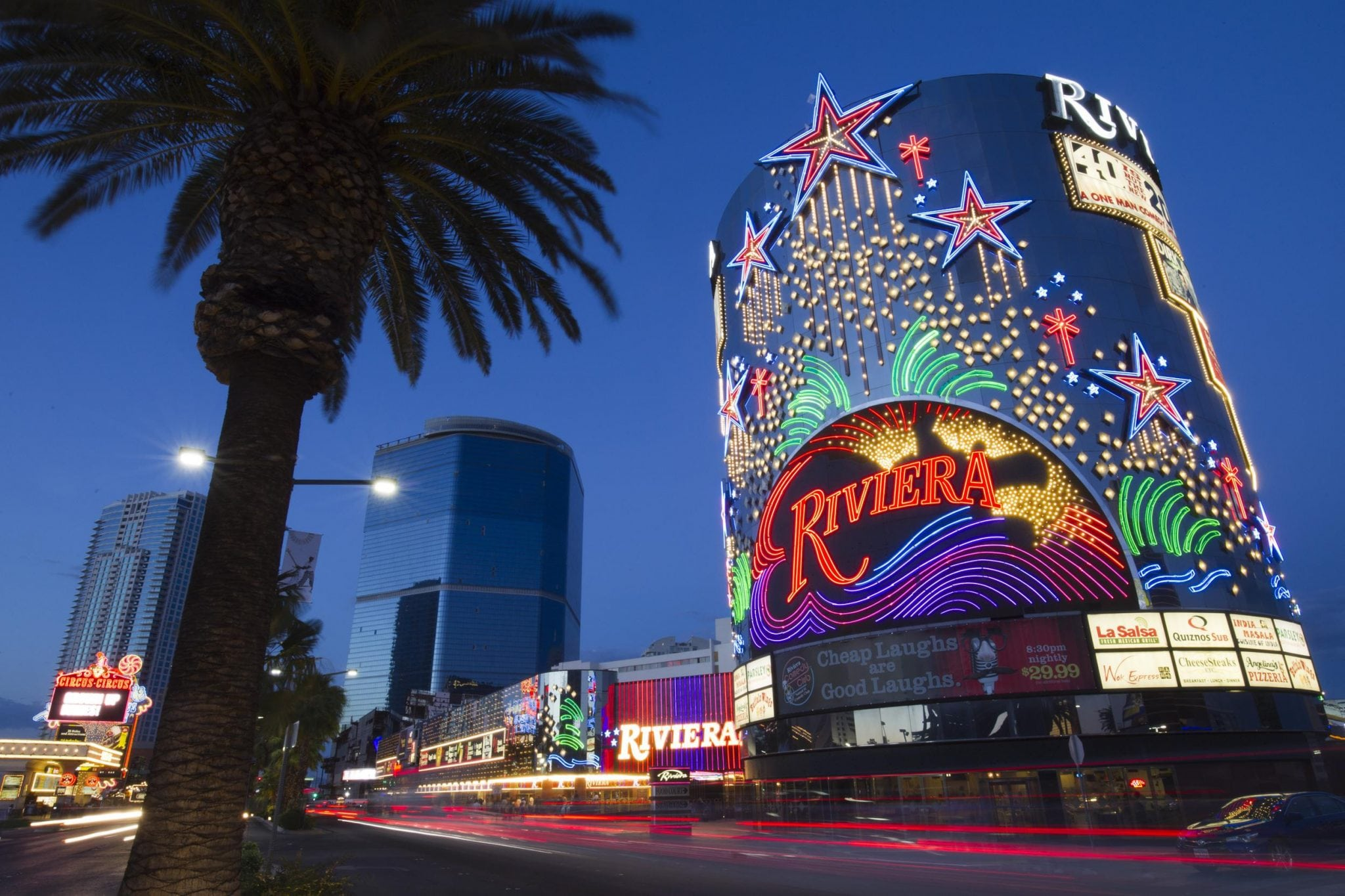 Demolition of the riviera casino in vegas will give way to for Riviera resort las vegas