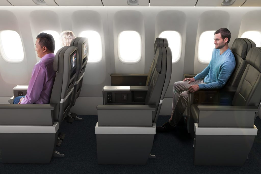 American S New International Premium Economy Will Begin As