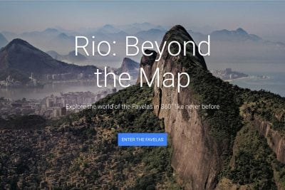 Google Maps Comes to Rio's Favelas for a 360-Degree Video Project