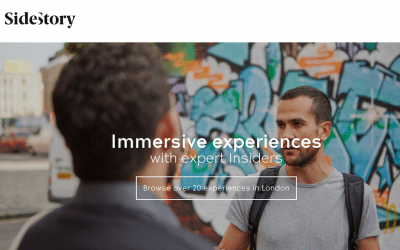 SideStory, Flyosk and More in Today's Travel Startup Watch