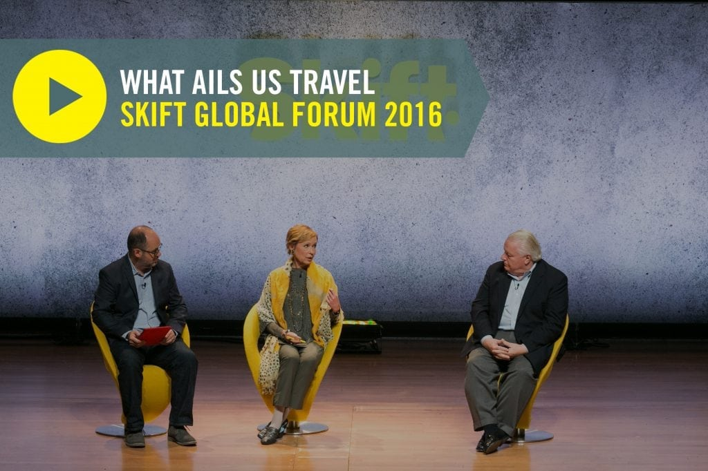Video: U.S. Travel Leaders on What Ails Tourism Today