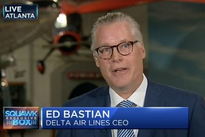 Delta CEO: There's No Pilot Shortage, But We're Giving Raises Anyway