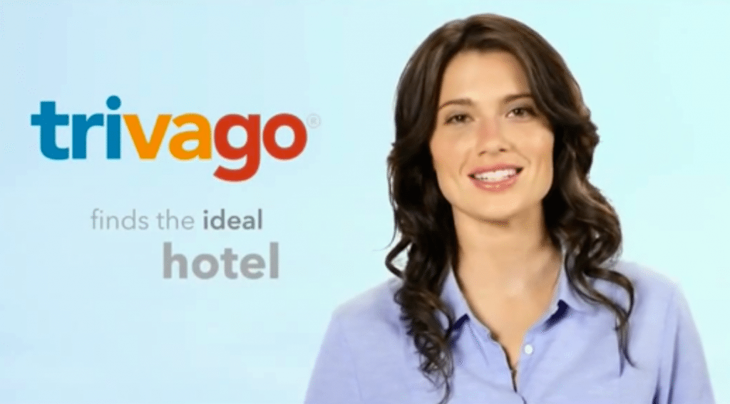 Move over Trivago Guy. The Trivago Gal, namely Australian actress Gabrielle Miller, has been touting the hotel search engine on U.S. TV.