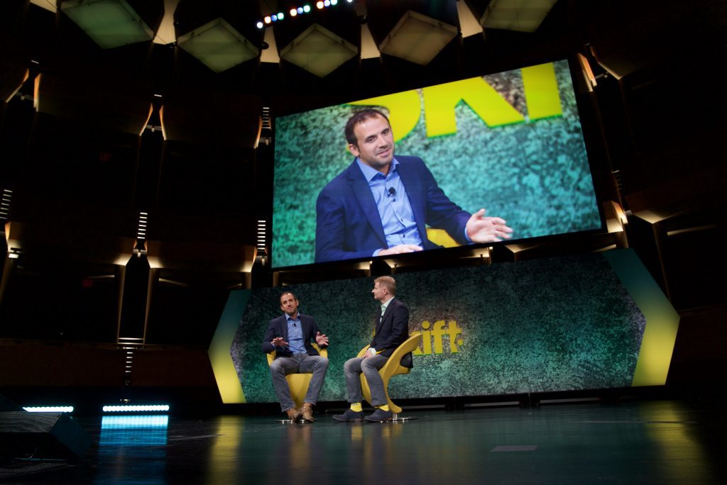 Eric Breon, co-founder and CEO of Vacasa, appeared at the Skift Global Forum in New York City September 27, 2017. The company has just announced a $103 million round of Series B funding.