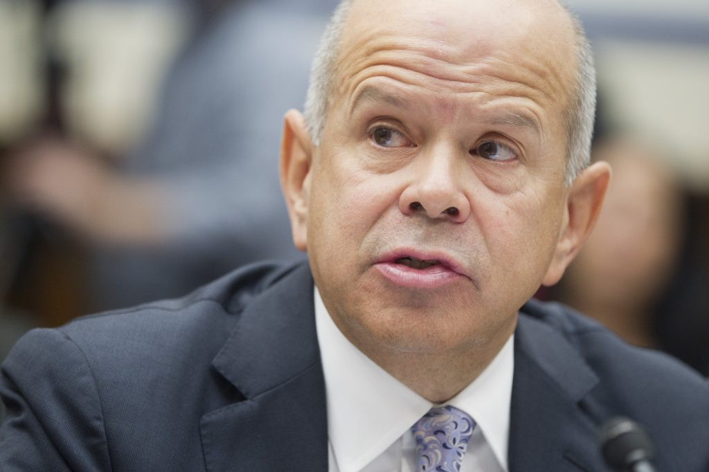 Michael Huerta was appointed by former President Barack Obama to lead the Federal Aviation Administration, and is a Trump administration holdover.