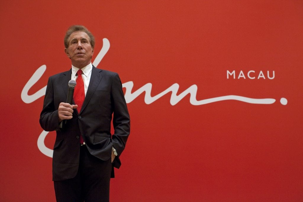 Wynn Resorts Founder Steve Wynn Subject to Multiple Sexual Harassment Allegations