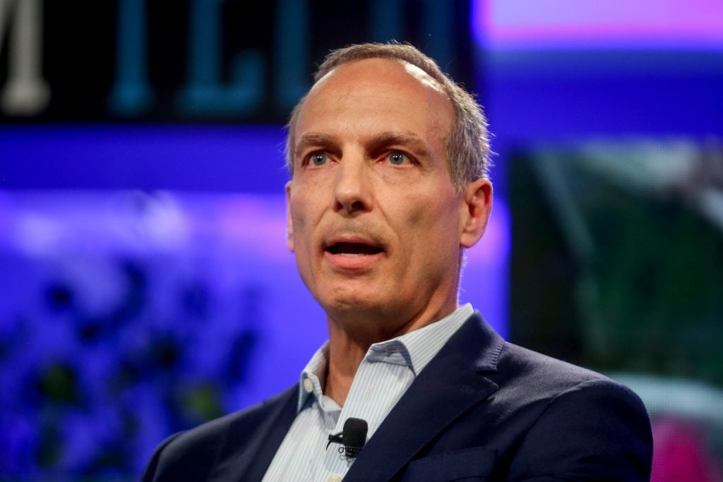 Glenn Fogel of Booking Holdings believes that new payment systems will go a long way in developing a more seamless travel experience. Pictured is Fogel at Fortune Brainstorm Tech.