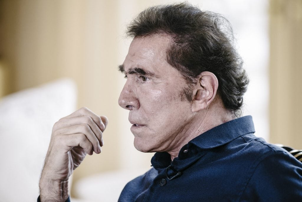 Wynn Resorts Competitor Obtains 5 Percent Stake as Steve Wynn Cashes Out