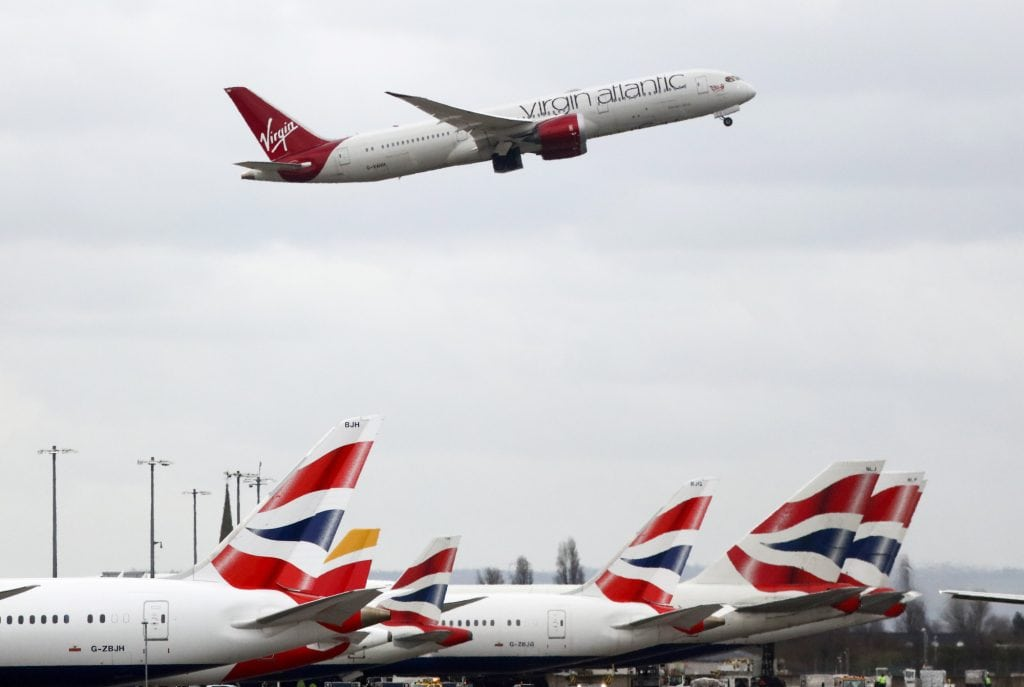 Virgin Atlantic CEO Predicts Airline's Issue With Rolls
