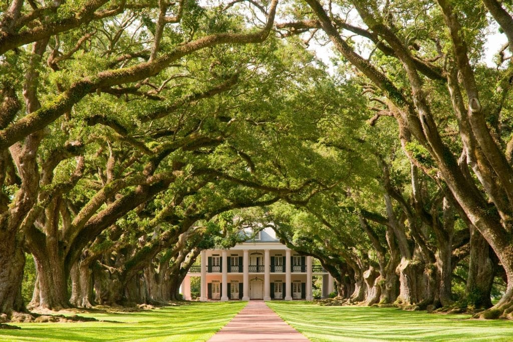 Oak Alley Plantation in Louisiana is among the destinations served by luxury road trip company All Roads North.