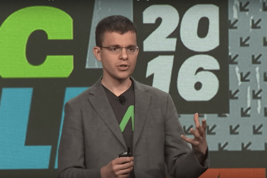 Max Levchin, CEO and co-founder of Affirm, will speak at Skift Tech Forum on June 12. Pictured is Levchin speaking at SXSW in 2016.