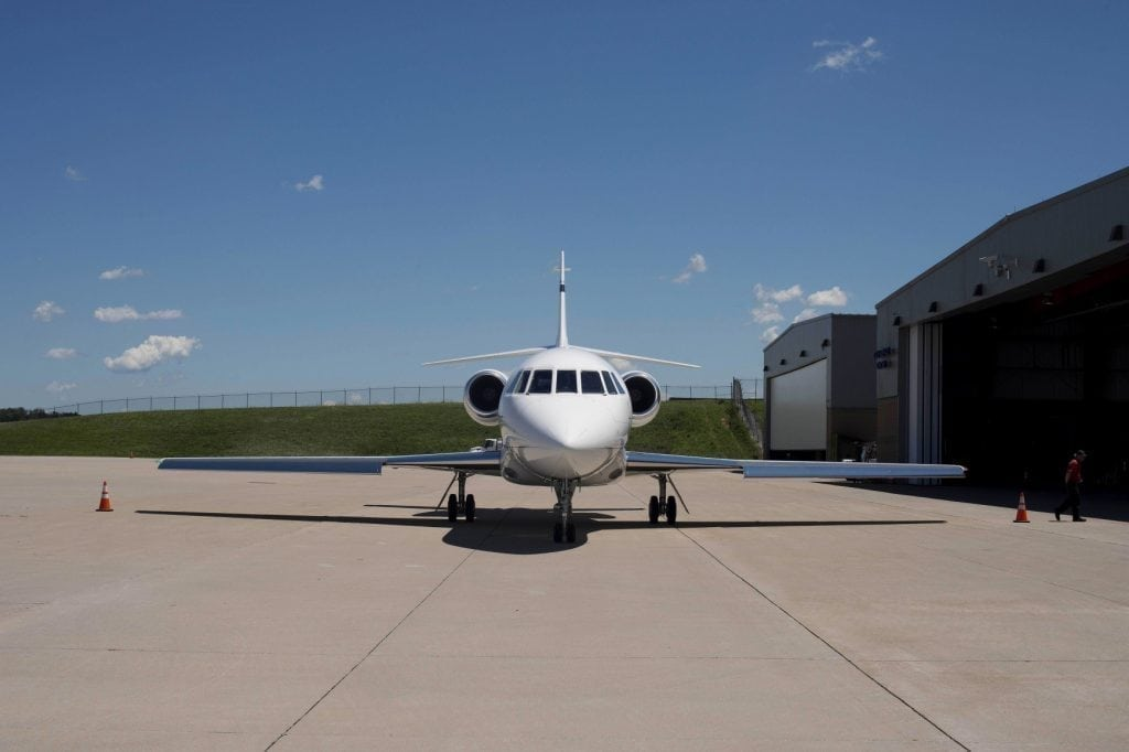 A picture of an aircraft. Encompass Aviation LLC is pursuing Surf Air for $3.1 million.