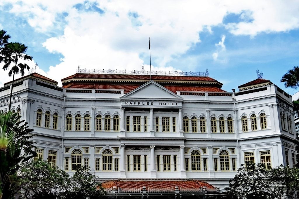 Accor owns the Raffles Hotel in Singapore.