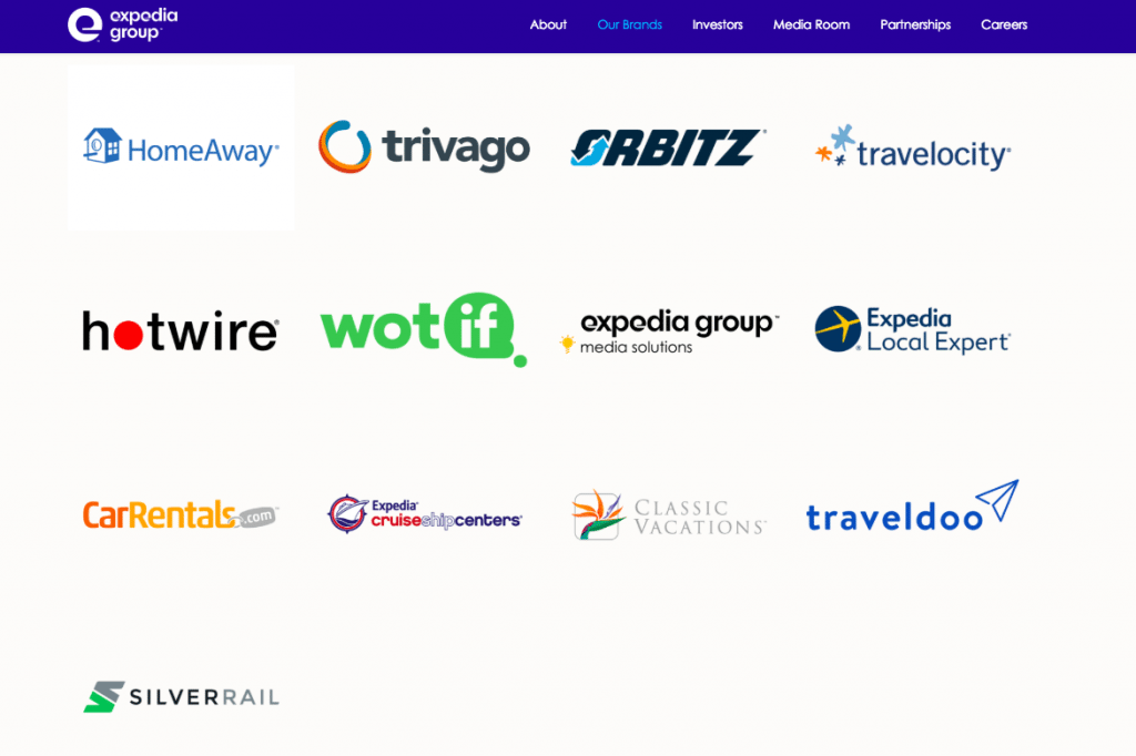 Every One of Expedia Group's 23 Brands, Explained – Skift