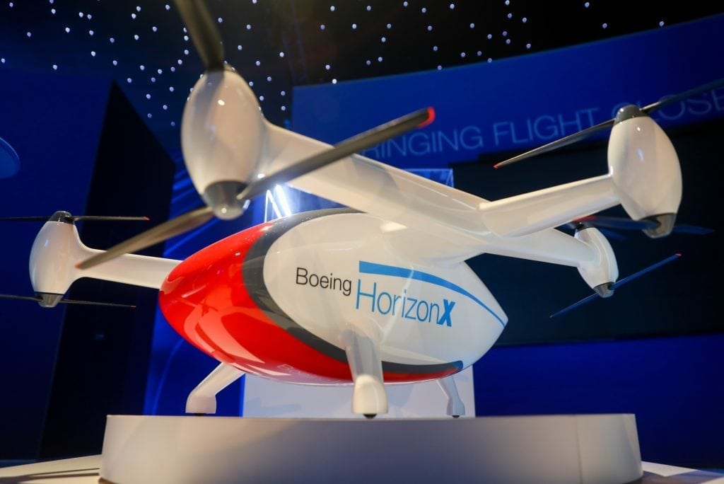 Boeing's New Business Unit Chases Future Air Travel Technologies