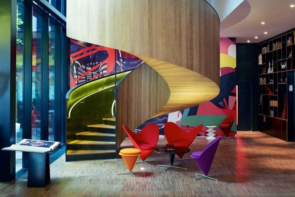 The CitizenM Bankside in London.