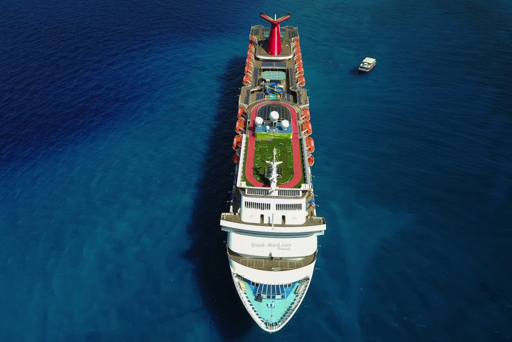 Shown here is Carnival Elation.