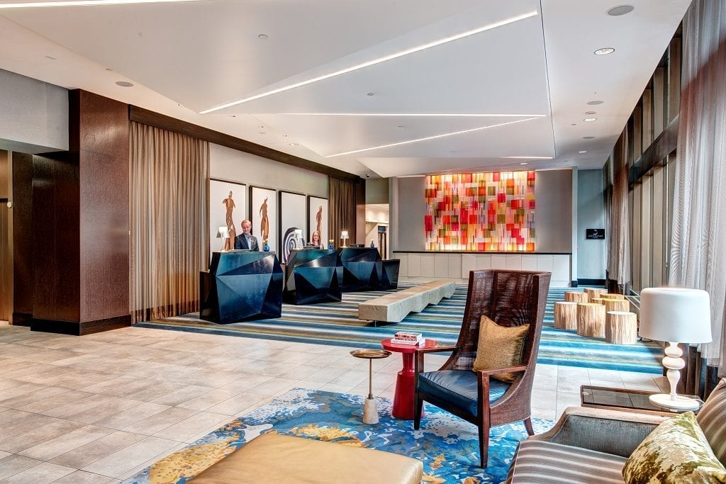 Hyatt intends to close its $480 million purchase of Two Roads Hospitality within the next two to three weeks. Pictured here is the Motif Seattle, which is part of Two Roads.