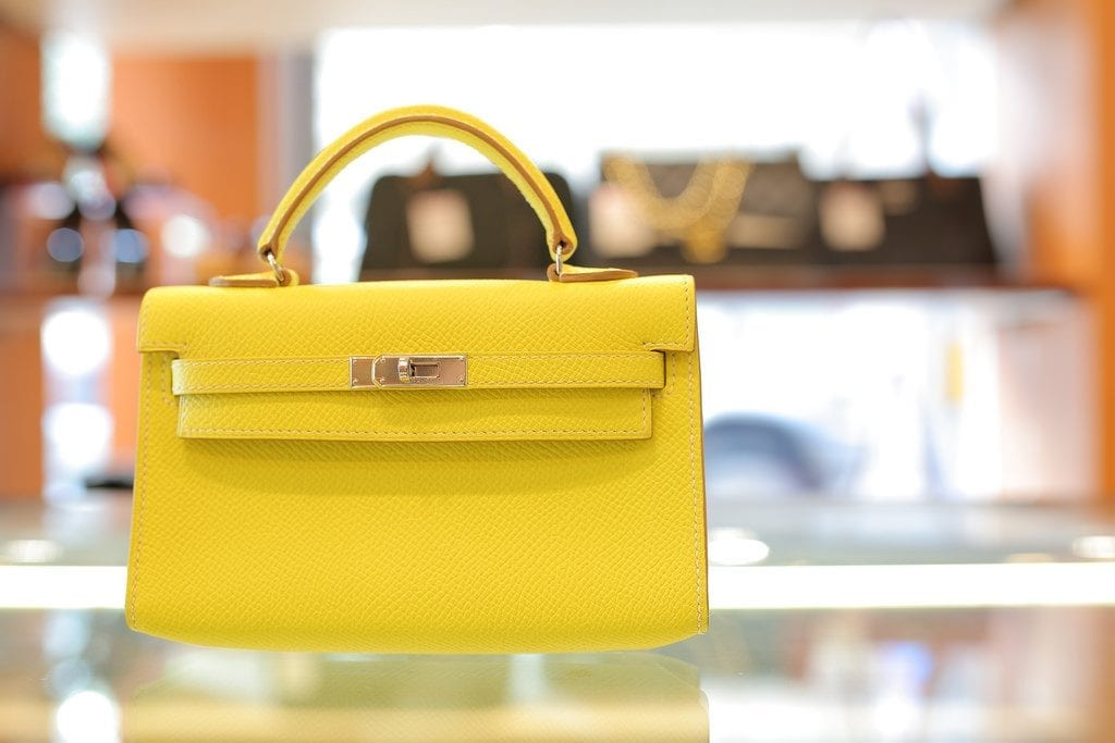 Hermes bags, like the one pictured here, could be affected by Asiana Airlines' new bag restriction.