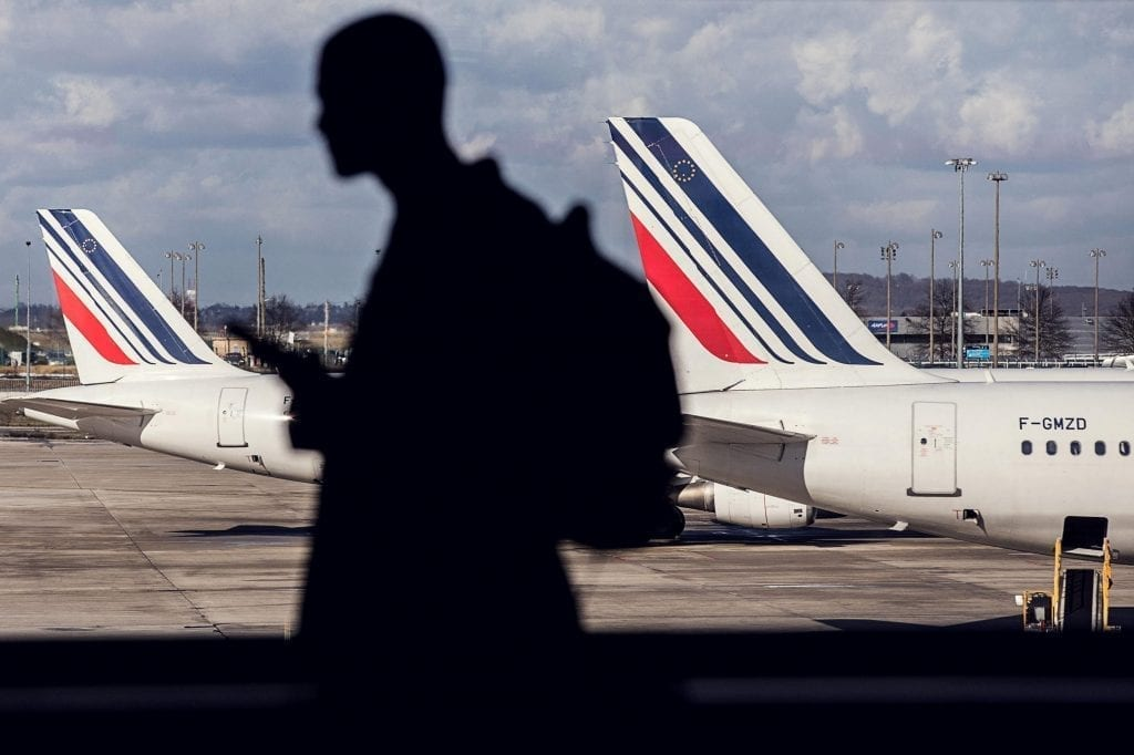 New Air France-KLM CEO Ben Smith has reached a deal with Air France labor unions. Pictured is an Air France jet.