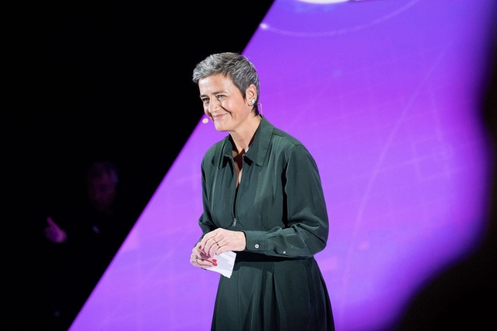Margrethe Vestager, the European Commissioner for Competition, announced the watchdog group would probe the global distribution systems for anticompetitive practices.