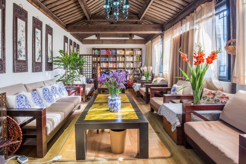 A China hutong home in Shanghai, a listing on Airbnb.