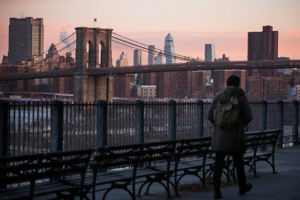 The Brooklyn Bridge in New York, where Airbnb admitted that it undercounted the number of listings run by illegal hotel operators.