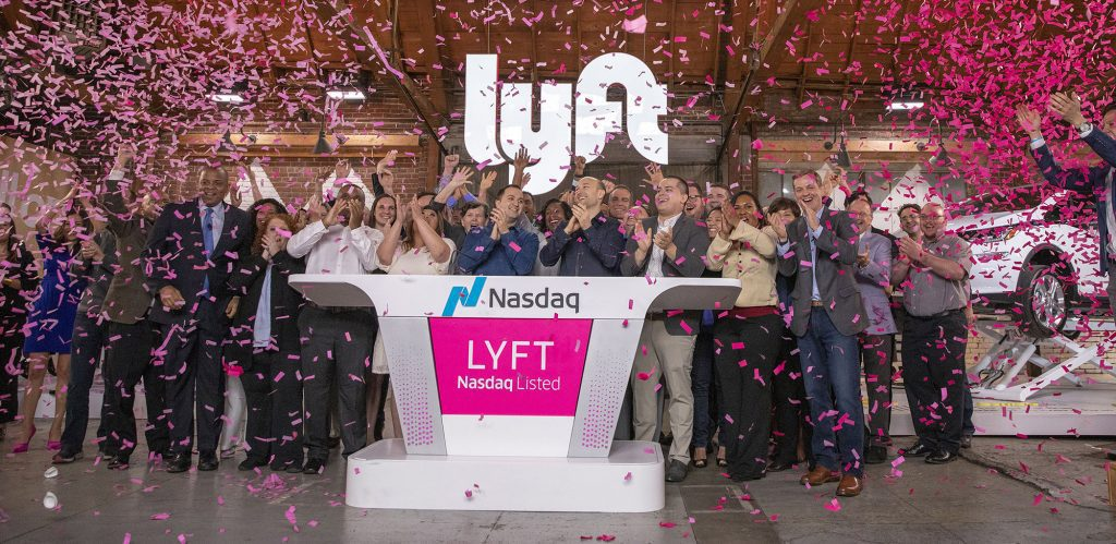 Lyft Posts Big Gains in Public Debut As It Continues to Lose Money