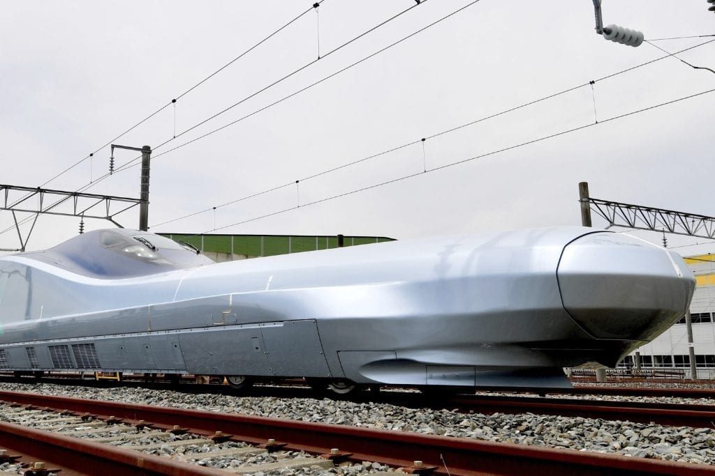Japan Tests the World's Fastest High-Speed Train