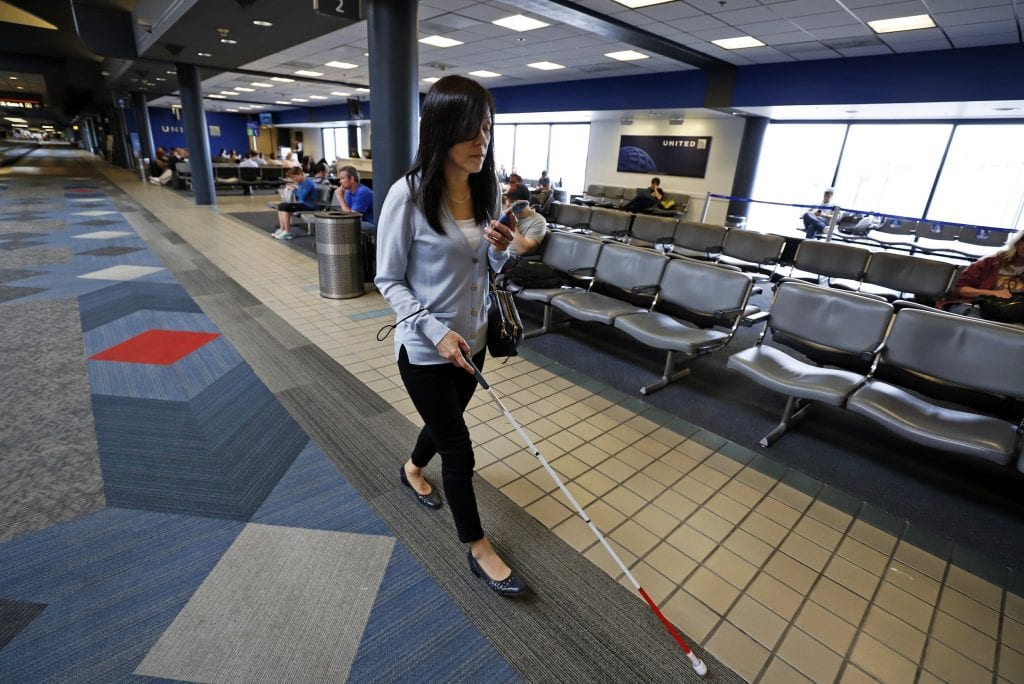New App Aims to Improve Airport Wayfinding for Flyers With Visual Impairment