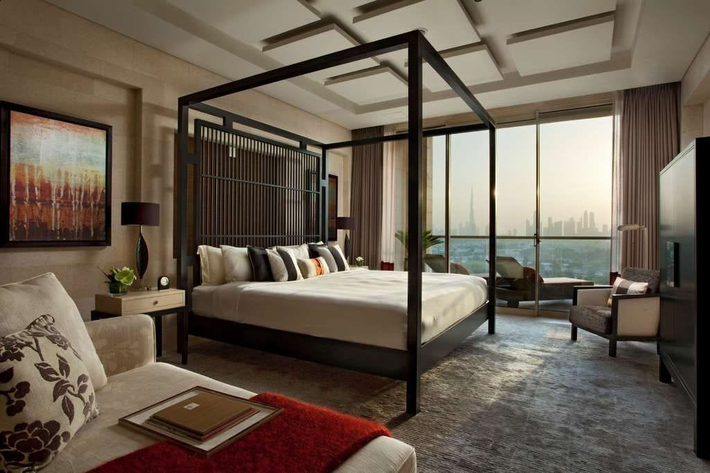 Pictured is a hotel suite at Raffles Dubai. Raffles Hotels & Resorts launched its Sleep Rituals program in February 2019. The hospitality industry has embraced the growing popularity of wellness with initiatives tied to a good night's rest.