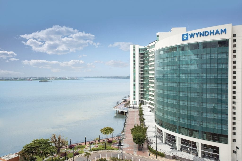 Wyndham Guayaquil in Ecuador. The Wyndham Hotel Group is working on expanding in its overseas market.