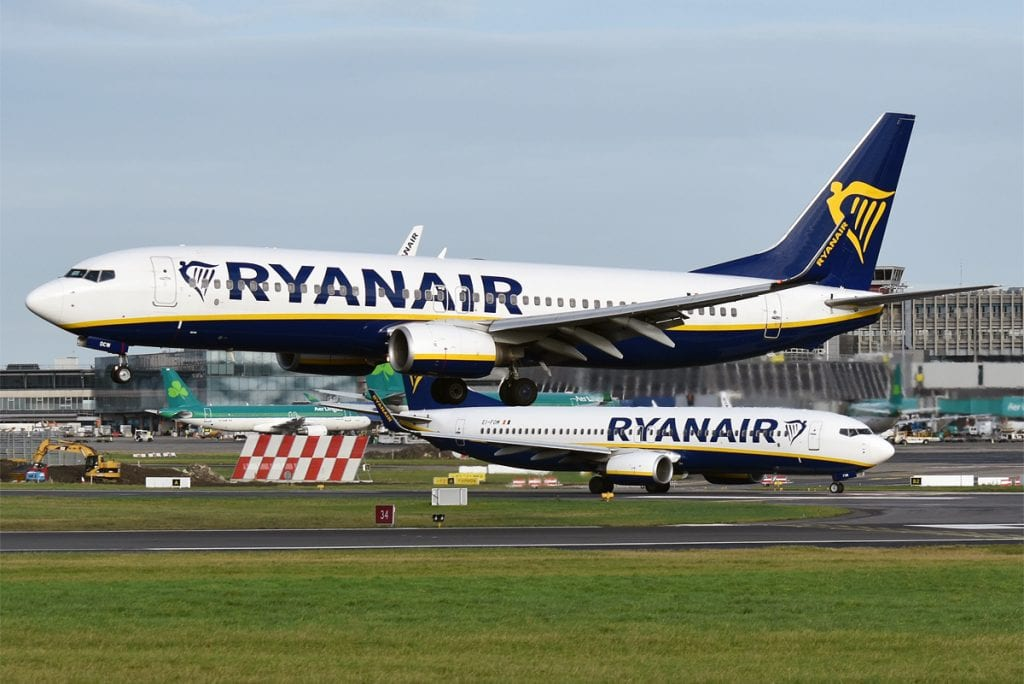 Ryanair Called Out by UK Regulator for Misleading Environmental Claims