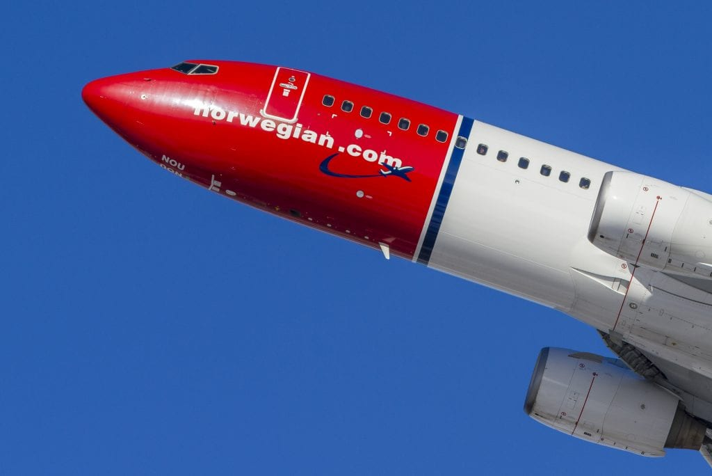 Norwegian Air Secures Initial $26.6 Million From Government Rescue Package