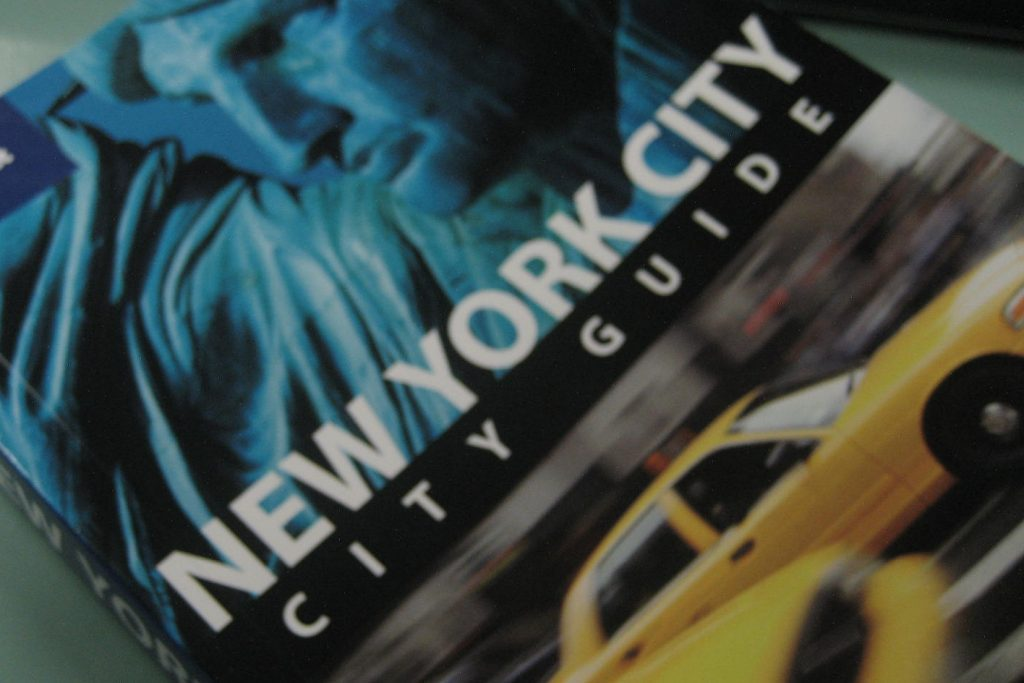 A Lonely Planet New York City guidebook as seen in 2010. The company is closing several offices but plans on still publishing guidebooks.
