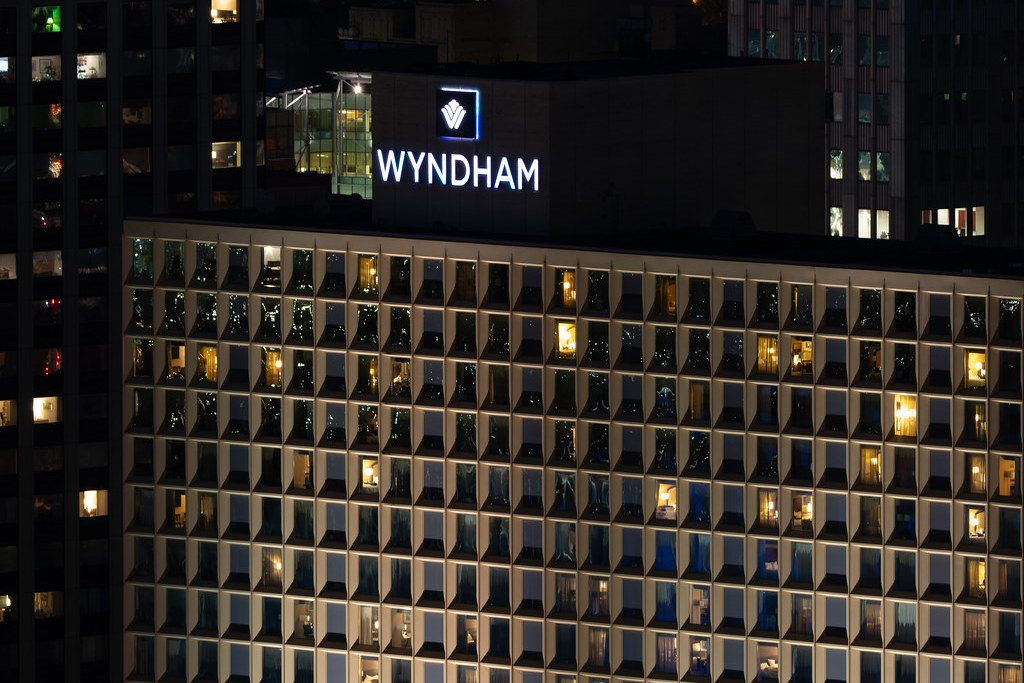Wyndham gains profit for the second quarter in a row as travel demand increases.