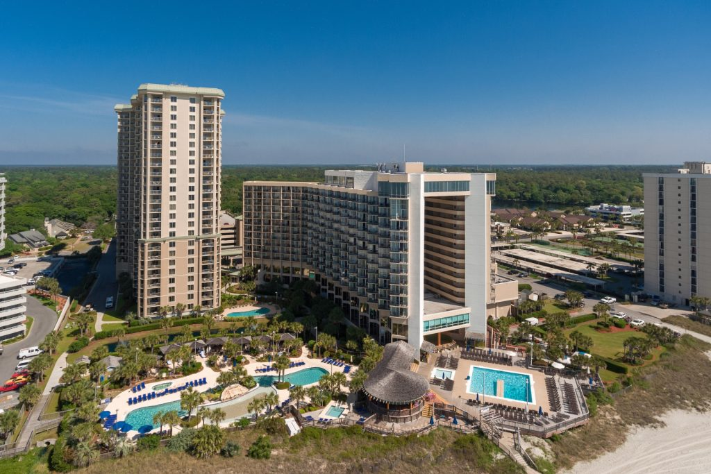 Even drive-to, beach resorts will eventually have to rely on group and convention bookings once summer ends.