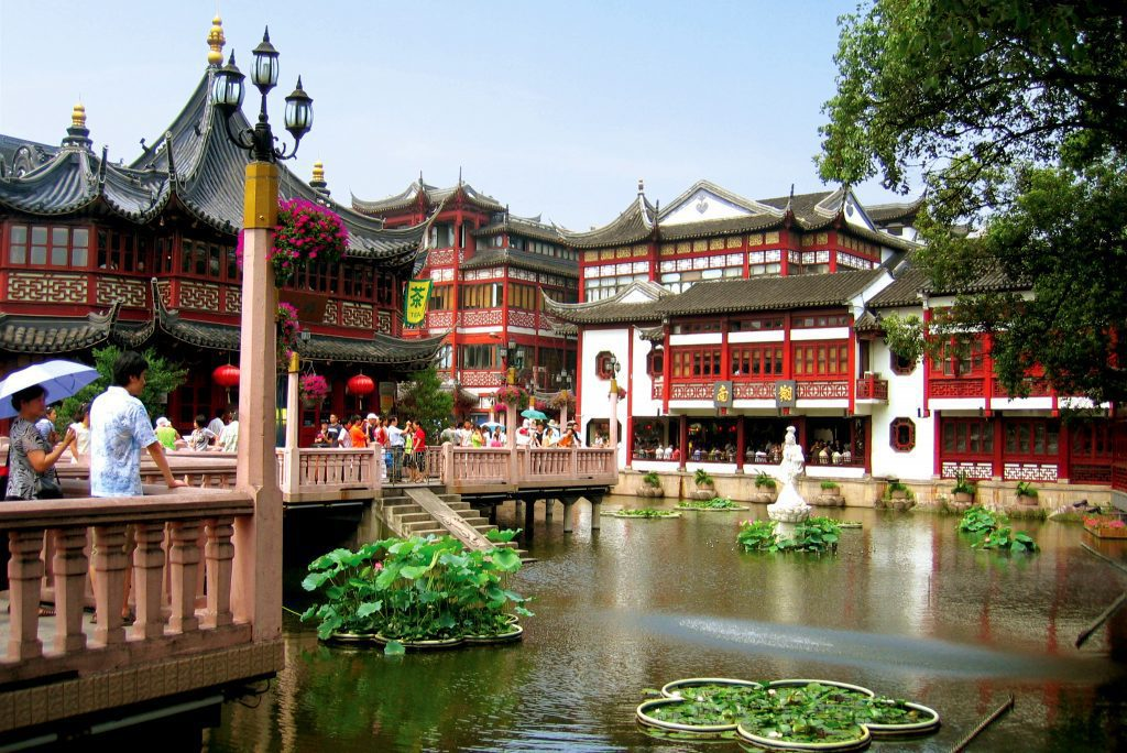 Domestic travelers at Yu Gardens in Shanghai before Covid-19. Will there be as many?