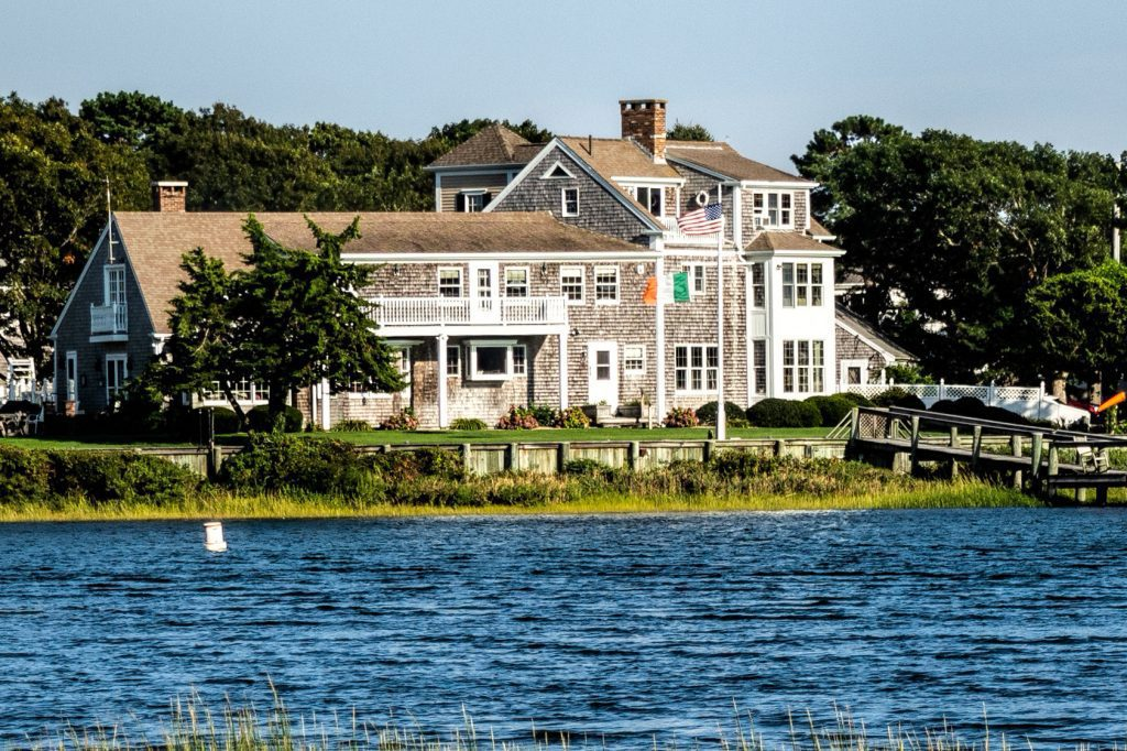 The Grand Old Beach House in West Yarmouth, Massachusetts on September 22, 2019. What will happen to short-term rentals in vacation locations when travelers return to cities?