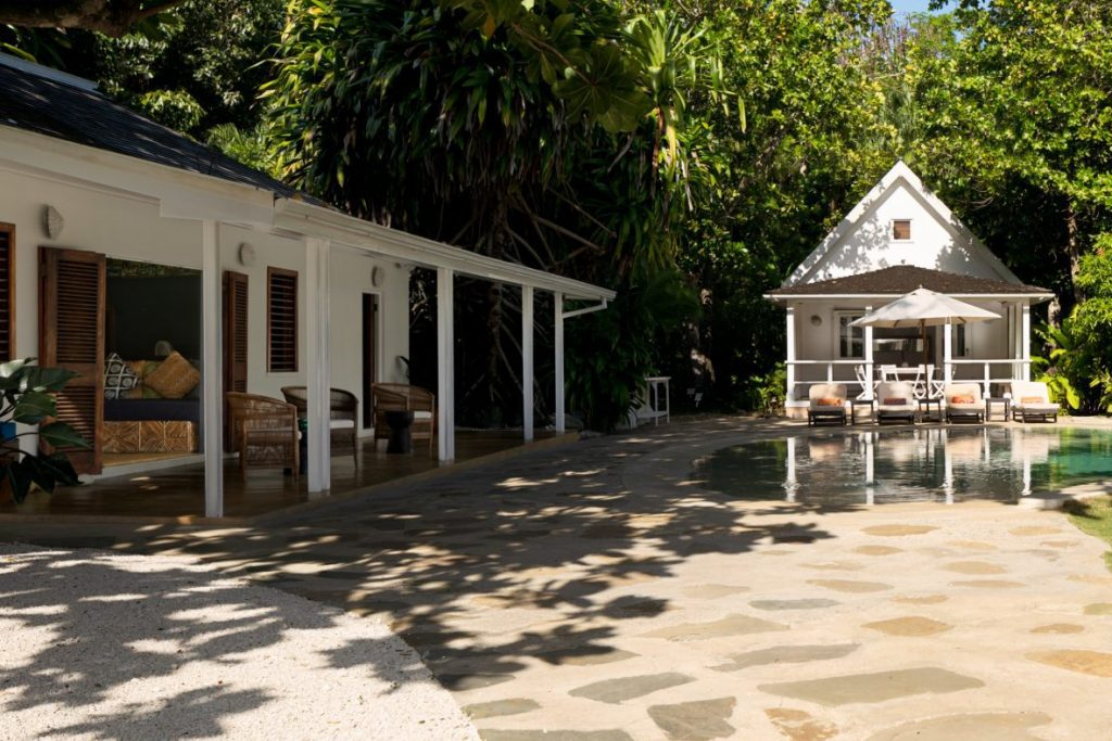 The Flemming Villa in Oracabessa, Jamaica. Airbnb directed hosts to list service fees in their rates instead of breaking them out.