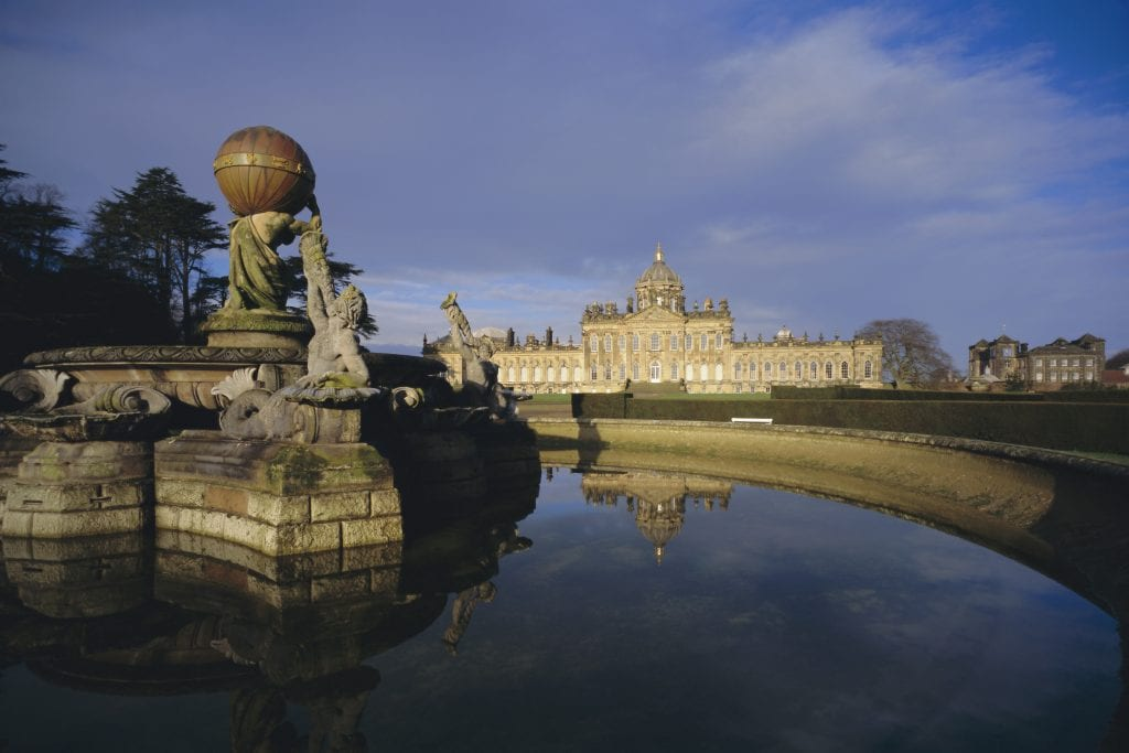There is pent-up demand for Bridgerton tours to filming locations, such as Castle Howard in Yorkshire (pictured).